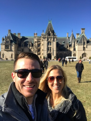 Us on the Biltmore Lawn